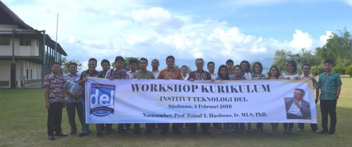 Workshop Kurikulum oleh Prof. Zainal Arifin Hasibuan di IT Del
