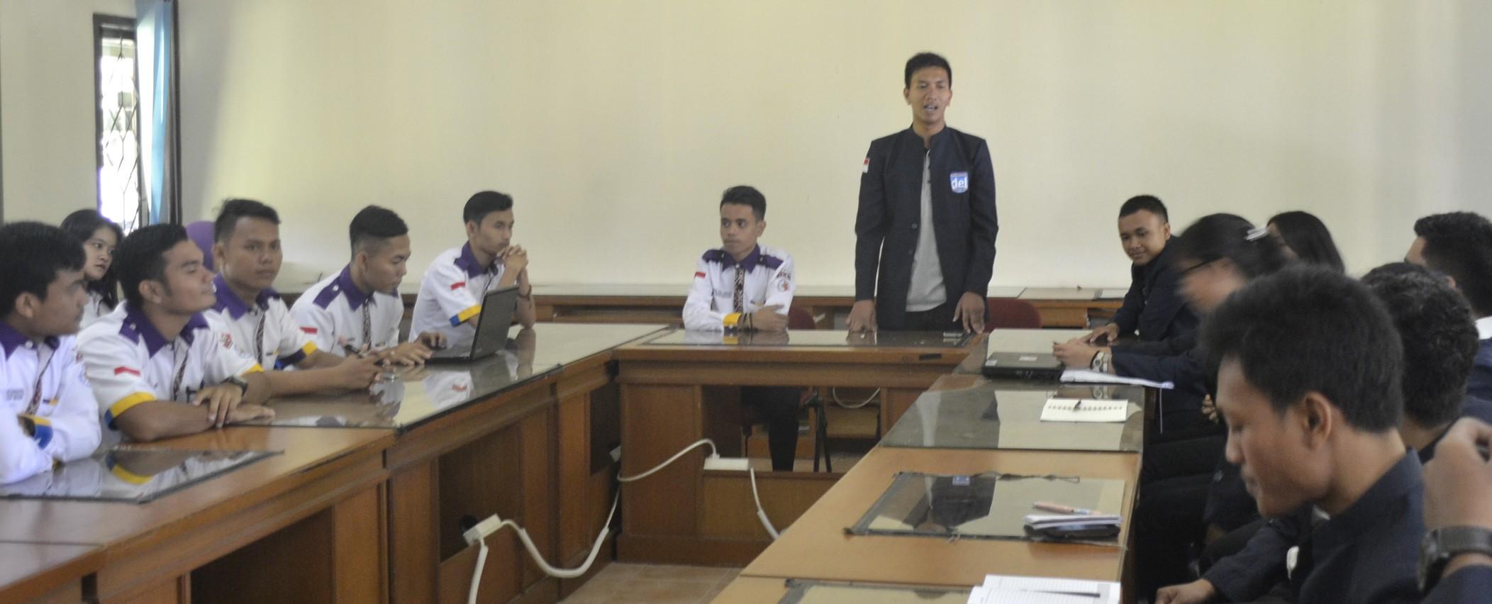 Kunjungan BEM Politeknik Negeri Medan ke IT Del