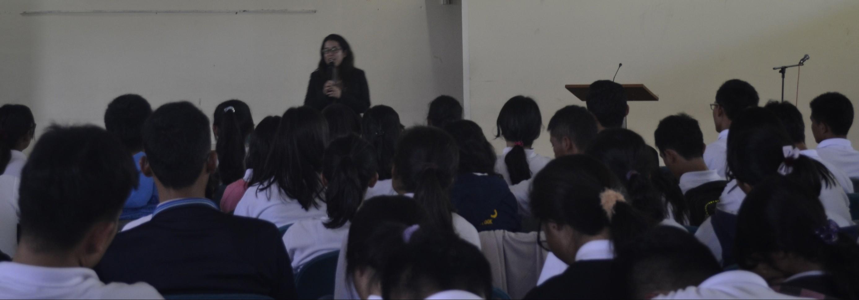 Kuliah Umum oleh Anna Yuliarti Khodijah dari Universitas Indonesia di IT Del