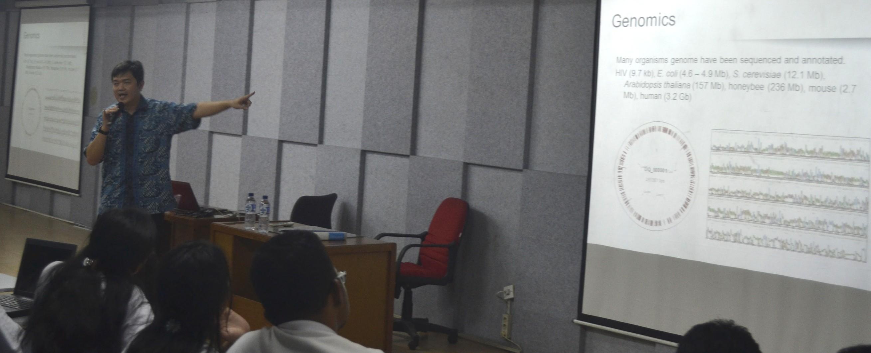 Kuliah Umum oleh Dr. Yalun Arifin dari Curtin University