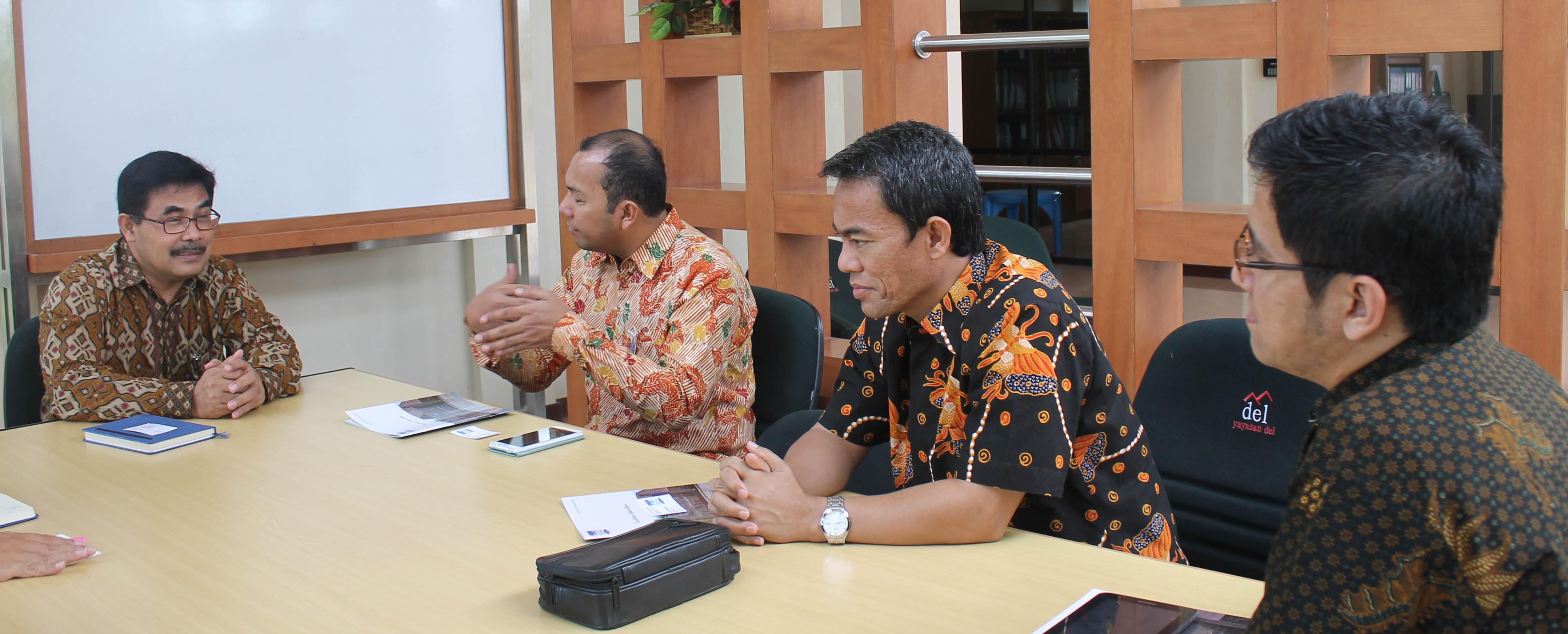 Kunjungan CEO Bank Mandiri Region I/ Sumatera 1 ke IT Del
