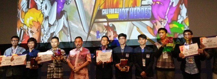 Tim Gipdee ITDel Juara 1 di Kompetisi AMICTA 2016 Kategori Game
