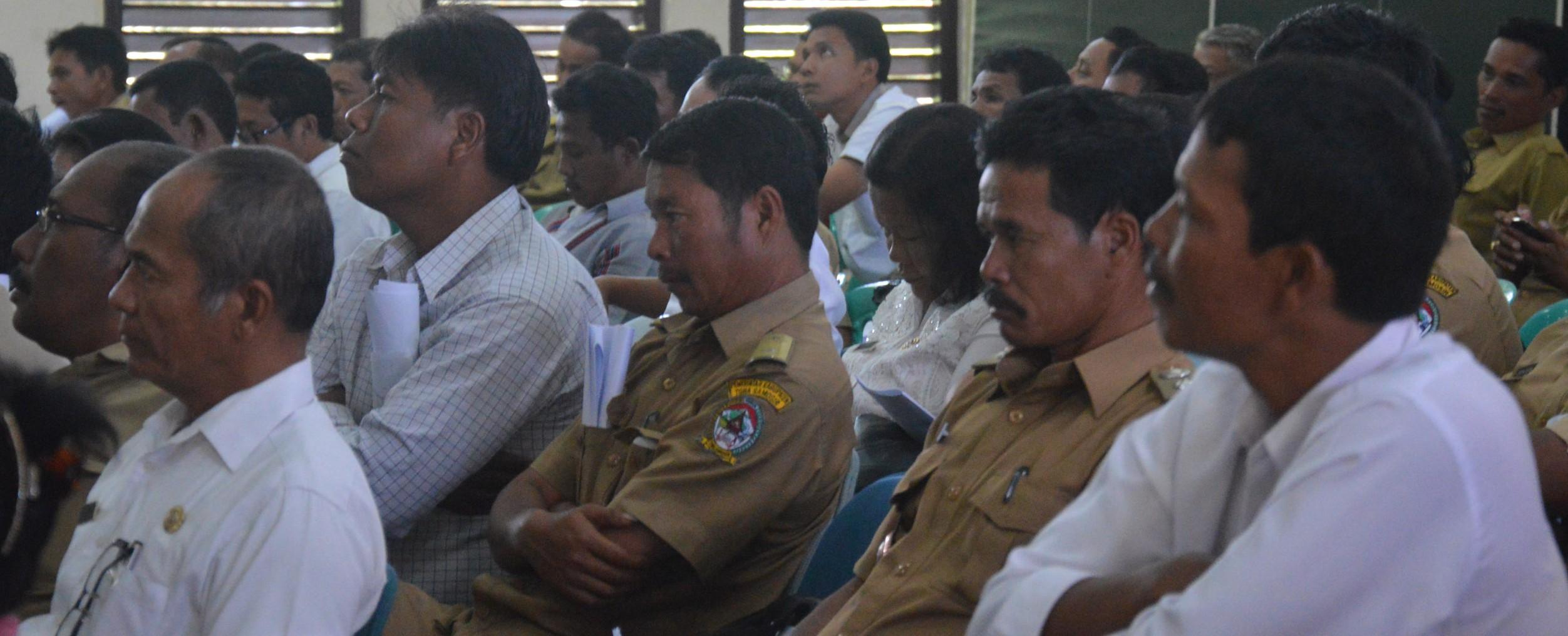 Camat dan Kepala Desa se-Kabupaten Toba Samosir Ikuti Sosialisasi Pelatihan TIK di IT Del