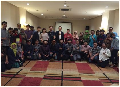Mahasiswa IT Del yang Lulus Gyeonggi ICT Global Startup Program 2017