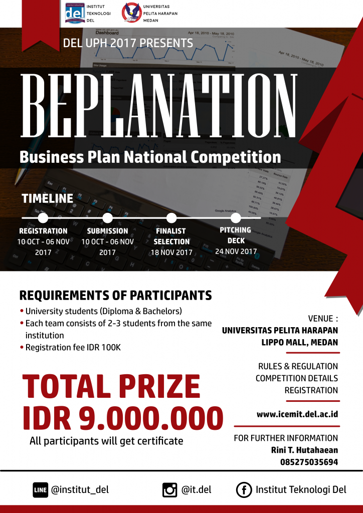 Beplanation Business Plan National Competition