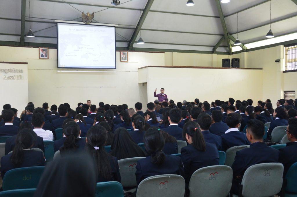 Kuliah Umum dari Kementrian Kemaritiman Indonesia tentang Kebijakan Kelautan Indonesia