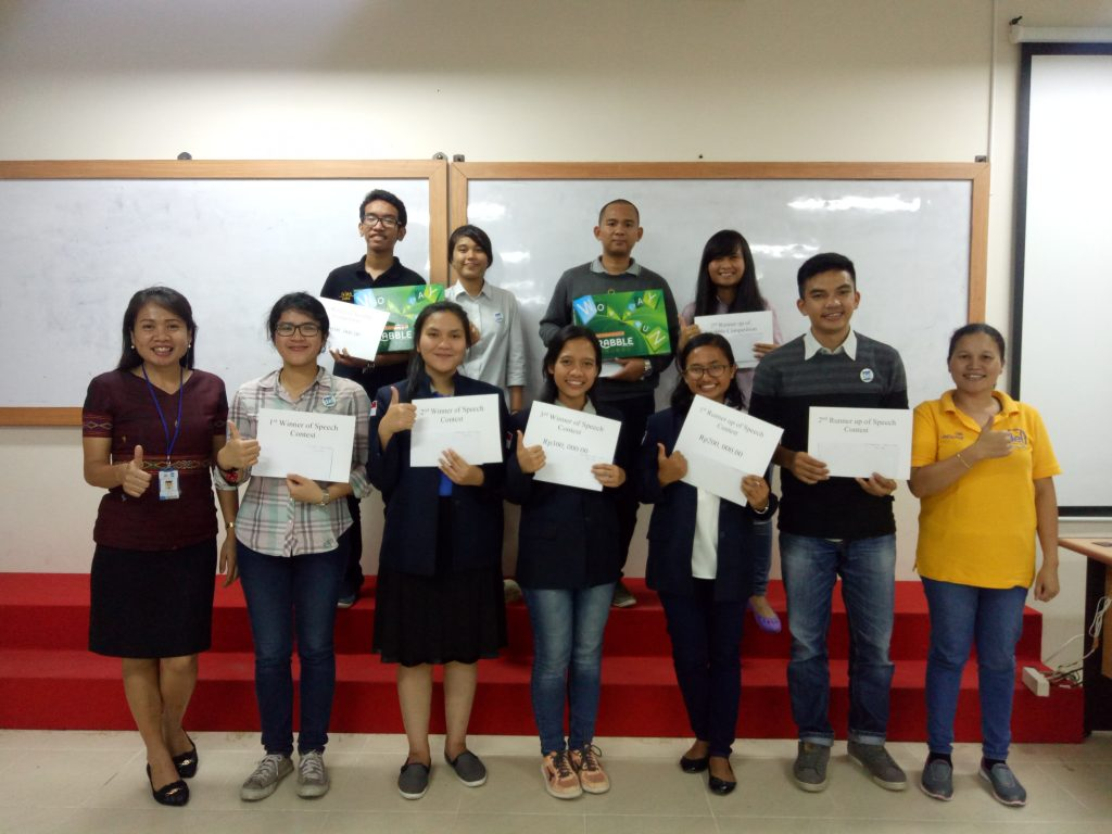 Del Internal Language Cup (DILC) 2017  Speech Contest – Final Round