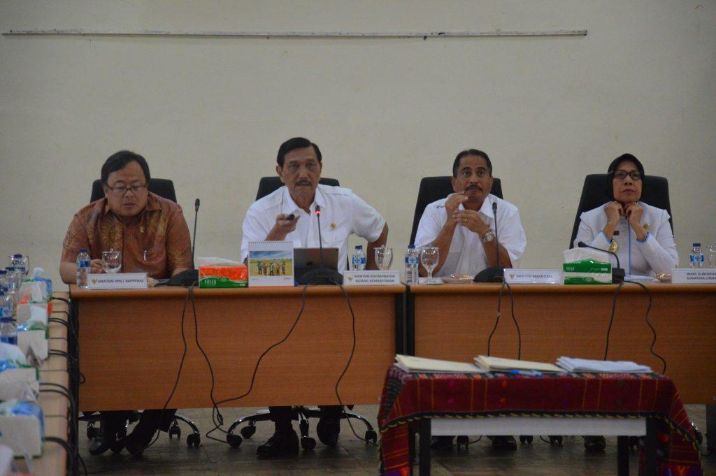 Rakor Dewan Pengarah Badan Otorita Danau Toba (BODT)