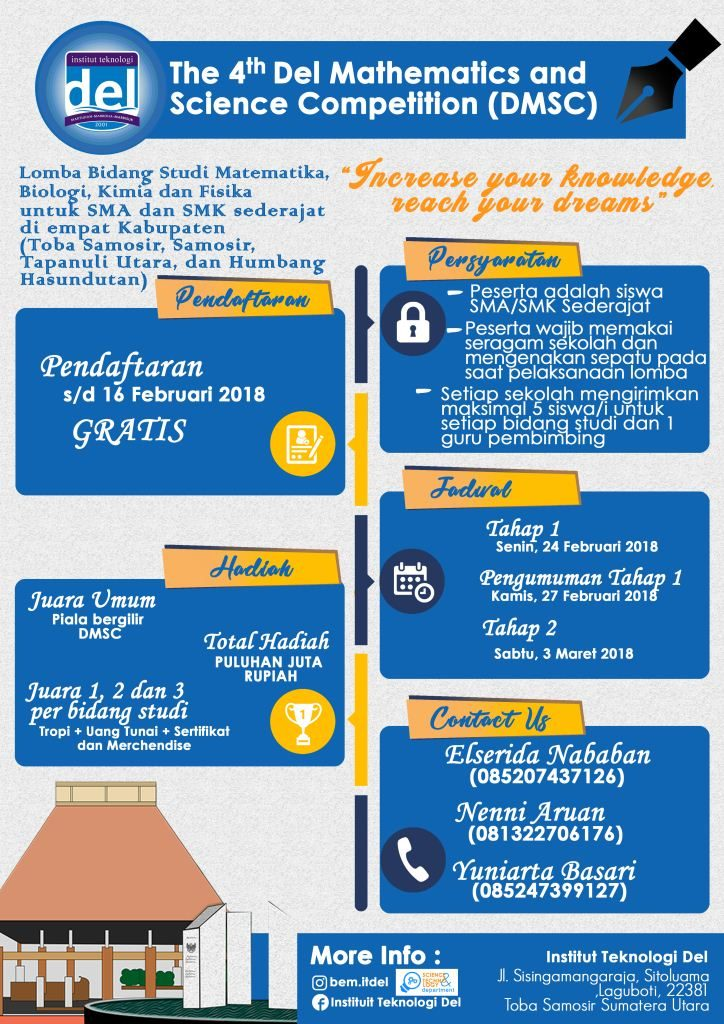 The 4th Del Mathematics and Science Competition (DMSC)