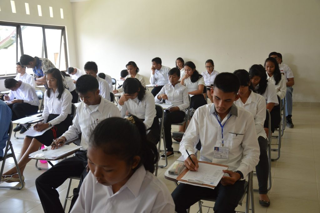 Try Out Ujian Masuk Perguruan Tinggi untuk Wilayah Tapanuli Utara
