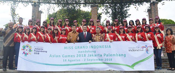 Miss Grand Indonesia 2018 melakukan kunjungan ke IT Del