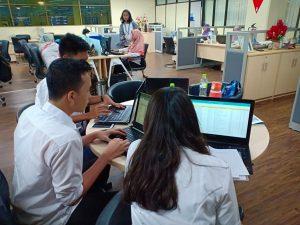 Kegiatan Kerja Praktek Mahasiswa Program Studi Manajemen Rekayasa