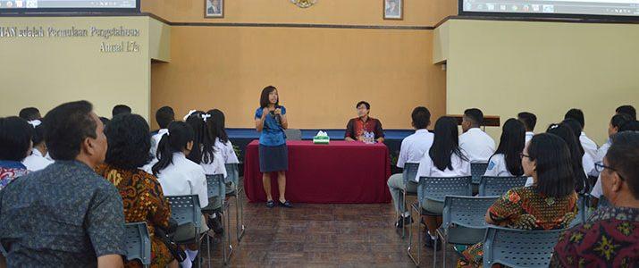 SMAN 1 Pematang Siantar Campus Visit to Institut Teknologi Del
