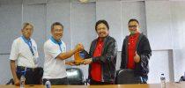 Telkomsel Sales Director's Visit to Institut Teknologi Del (IT Del)