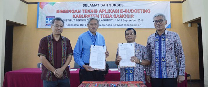 Bimbingan Teknis (Bimtek) Aplikasi E-Budgeting Kabupaten Toba Samosir
