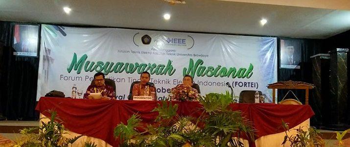 Forum Pendidikan Tinggi Teknik Elektro Indonesia 2018 di Batu Malang Sukses Dilaksanakan