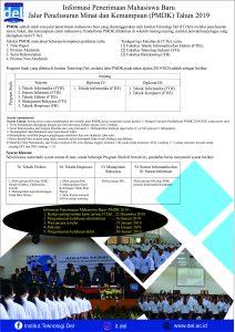 Informasi-Syarat Pendaftaran Jalur PMDK_IT Del 1920