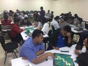 Elimination Scrabble