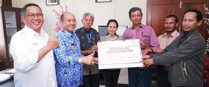 Institut Teknologi Del (IT Del) Menerima Dana Bantuan CSR dari PT Indonesia Asahan Aluminium Persero (INALUM Persero).