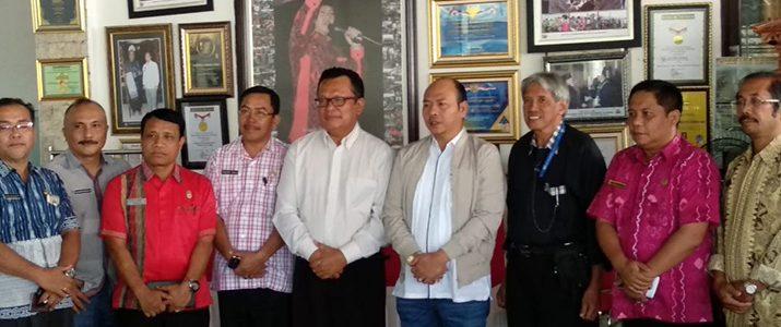 Penandatangan MOU antara Pemerintah Kabupaten Tapanuli Utara dengan Institut Teknologi Del (IT Del).