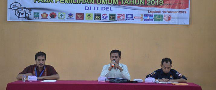KPU Sosialisasi Pilkada ke Kampus Institut Teknologi Del.