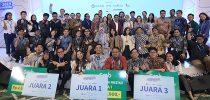 Eko Priono Fikranta Simanjuntak, Institut Teknologi Del (IT Del) Student Champions Finance Ministry's Hackathon 2019 With Application DUIT