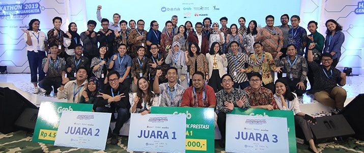 Eko Priono Fikranta Simanjuntak Mahasiswa Institut Teknologi Del (IT Del) Mendapatkan Juara 1 dengan membuat Aplikasi DUIT Pada Kompetisi Hackathon 2019 (Kemenkeu)