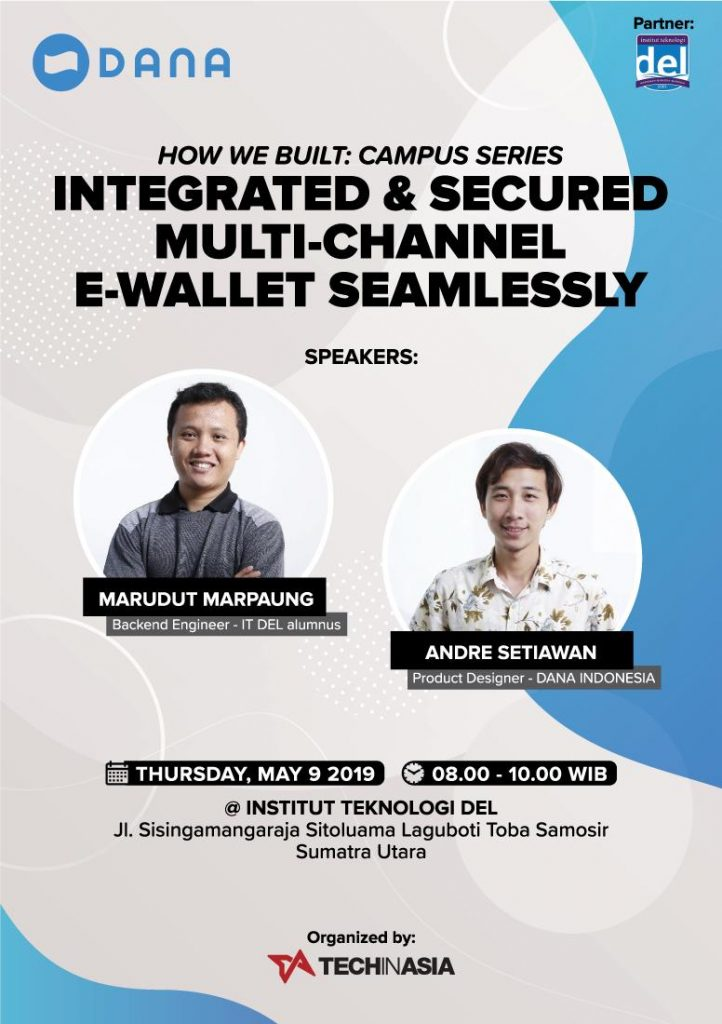 CAMPUS VISIT TECH IN ASIA X DANA.ID X BLOCKCHAIN INDONESIA
