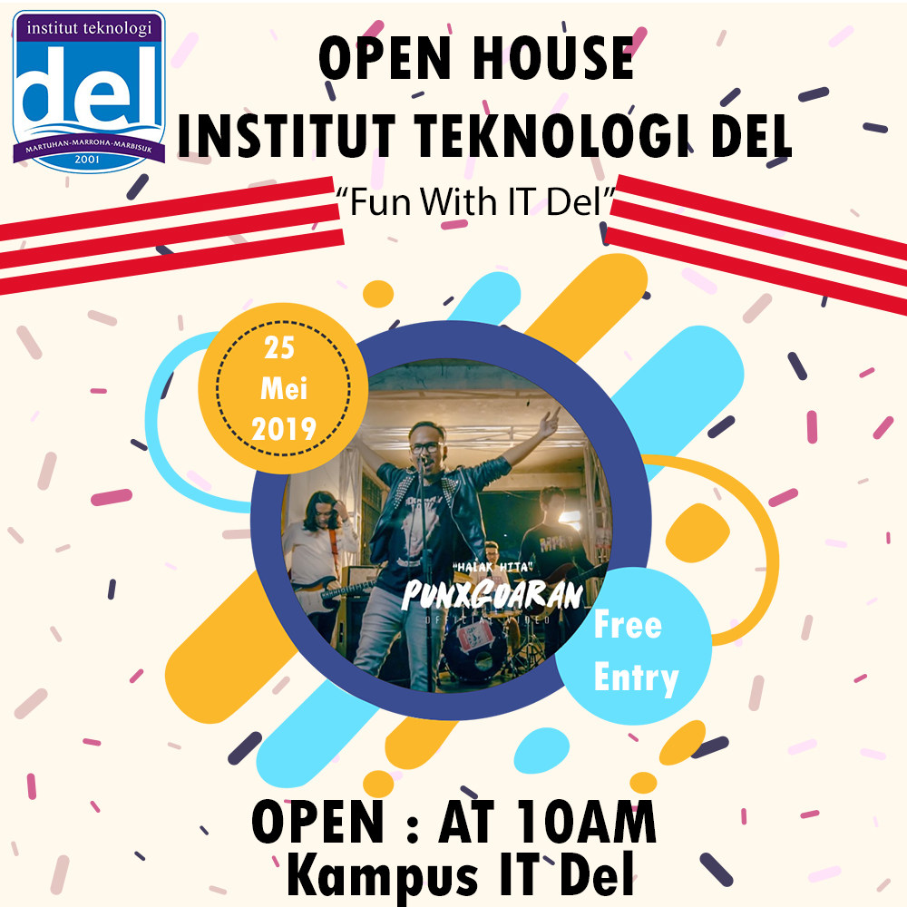 Institut Teknologi Del Open House on 25th May 2019