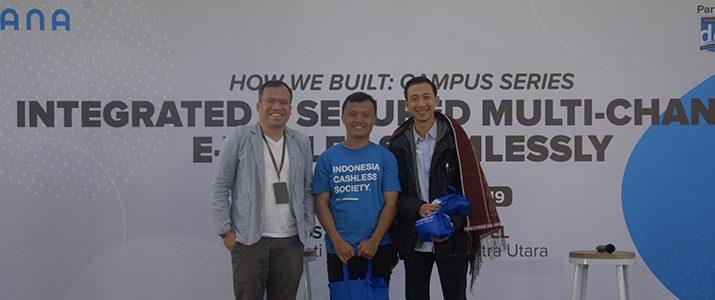 Kuliah Umum oleh DANA dan BLOCKCHAIN Indonesia