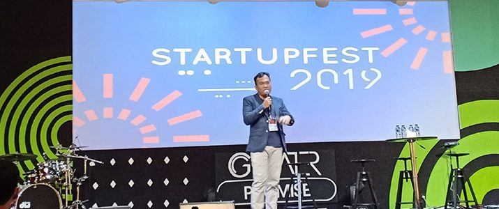 An Engineering Management Lecturer Speaks in Clapham Startup Fest 2019