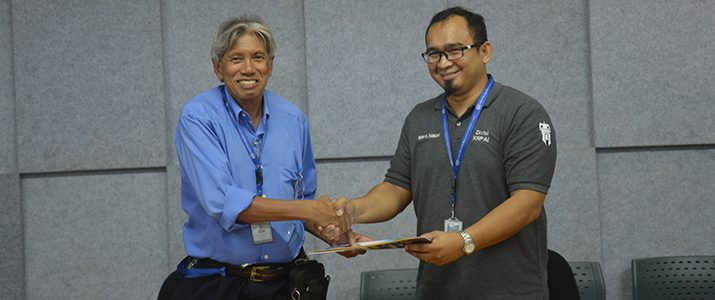 Research and Community Service Unit (LPPM) of Institut Teknologi Del Holds the 2019 Internal-Funded Research and Community Service contract signing