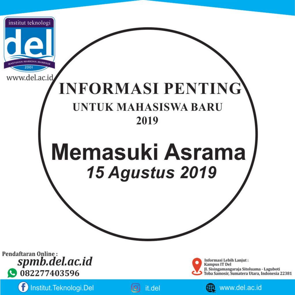 Informasi Penting Untuk Mahasiswa Baru 2019