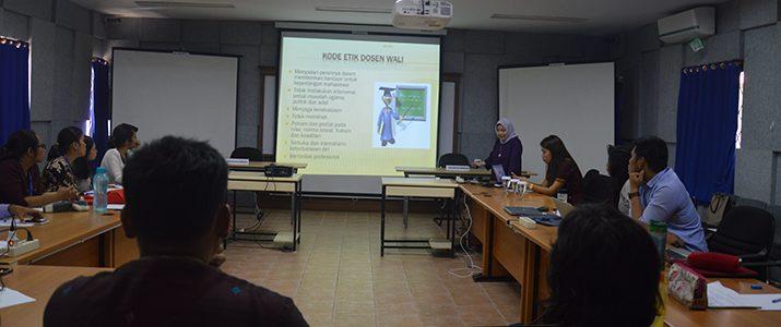 Pelatihan Konseling Bagi Dosen Wali Akademik di Institut Teknologi Del (IT Del)