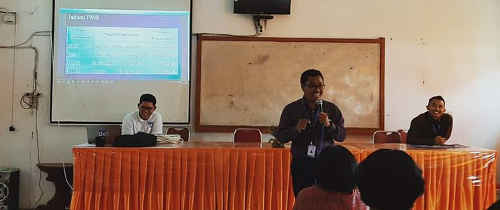 Roadshow Institut Teknologi Del (IT Del) 2019/2020 ke beberapa sekolah Siborongborong dan Tapanuli Utara