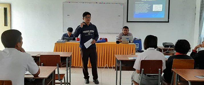 Roadshow Institut Teknologi Del (IT Del) 2019/2020 ke beberapa sekolah Humbang Hasundutan