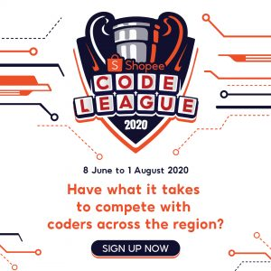 Are you ready for the largest code league organised by @Shopee?