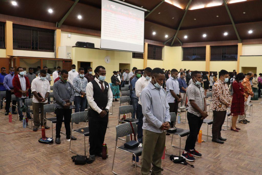 Ibadah Perayaan Advent Institut Teknologi Del