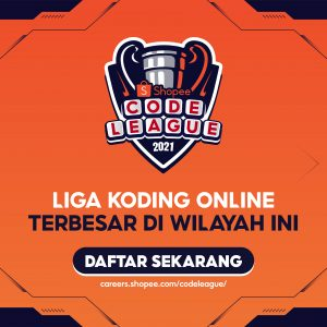 Shopee Code League edisi kedua di 2021