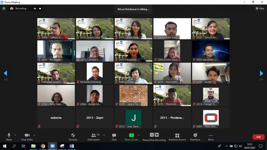 Acara Sarasehan Institut Teknologi Del dan Ikatan Alumni Del