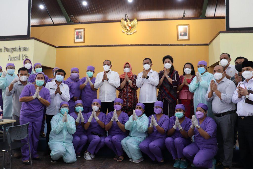 Kunjungan Gubernur Sumatera Utara dan Bupati Toba ke Institut Teknologi Del